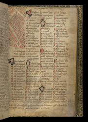 Zoomorphic Interlace Initial, In A Volume Of Miscellaneous Prose And Verse Theological Texts(011ADD000020512U00048000)
